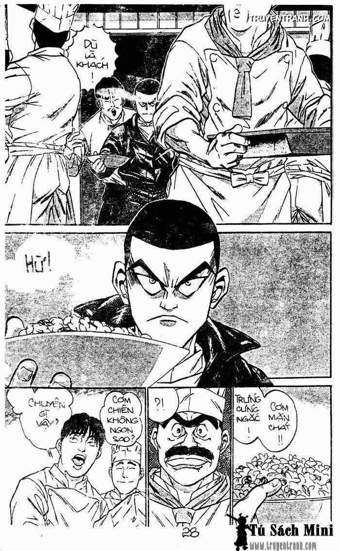Đầu bếp siêu đẳng (Iron Wok Jan) Chapter 1 - Trang 28