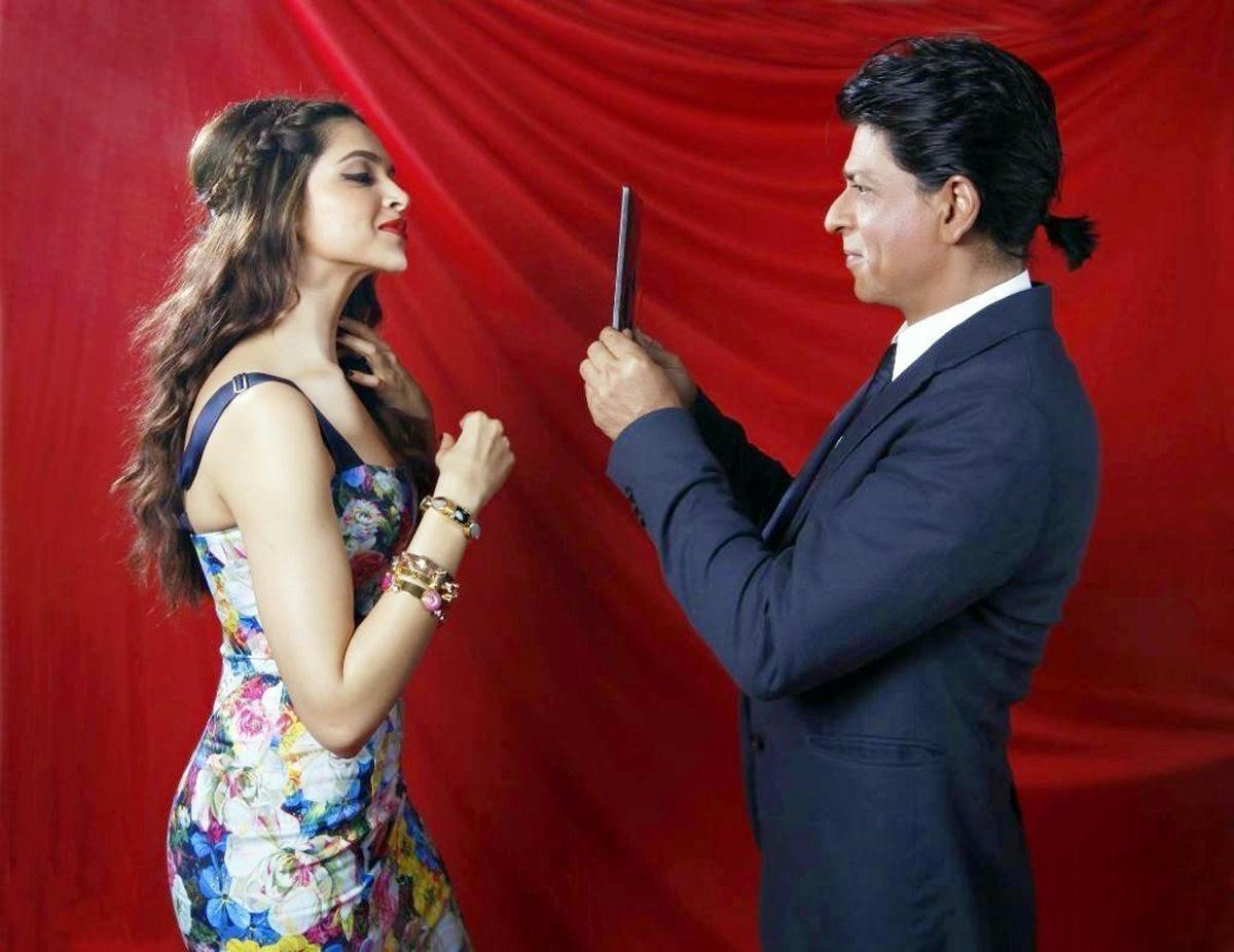Movie happy new year Sexy dipika padu with sharukh khan 2014 (Actor and Actress Hd Wallpaper)