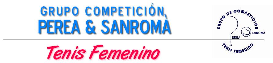 Grupo de competición TENIS FEMENINO