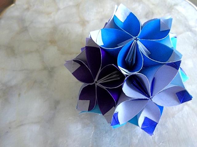 Zakka 81 How To Make Origami Ornament Ball Kusudama