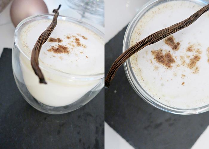Weihnachtliche White-Hot-Chocolate