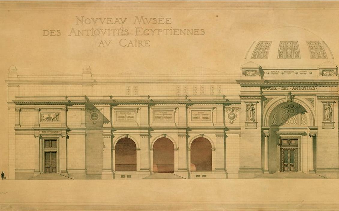 Marcel dourgnon les uvres gyptiennes d 39 un architecte for Architecte francais
