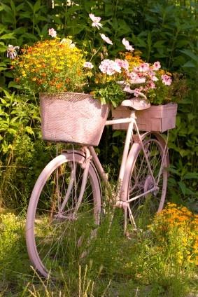 Sweet Magnolias Farm Garden Art Bicycles And Posies
