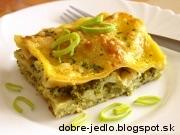 Lazane s brokolicou - recept