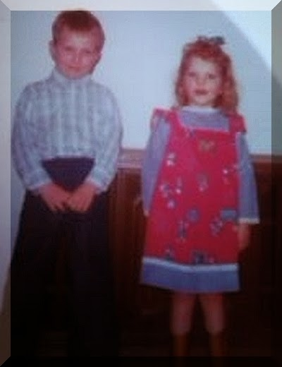 The St. Clair Children Johnny and Julie: A Picture of Innocence Stolen From Them