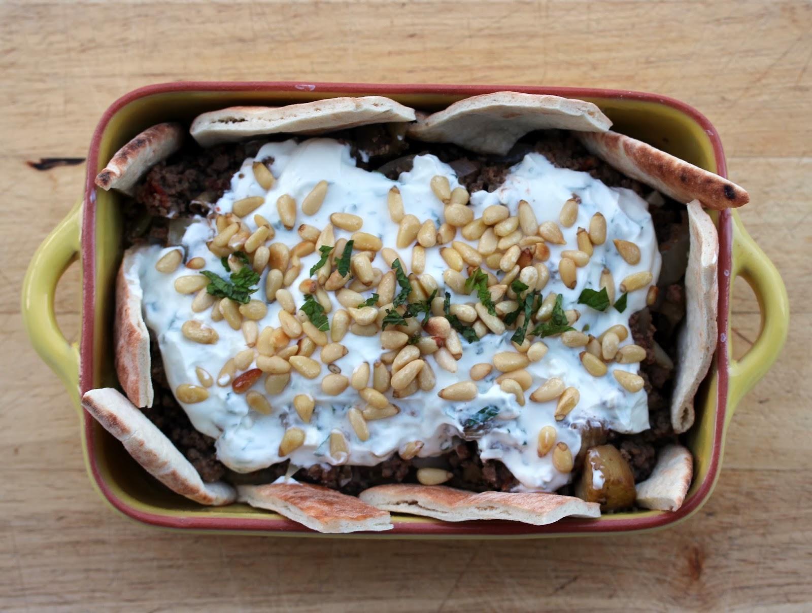 Au gr du march fatteh l 39 agneau ou agneau boeuf et - Cuisine libanaise aubergine ...