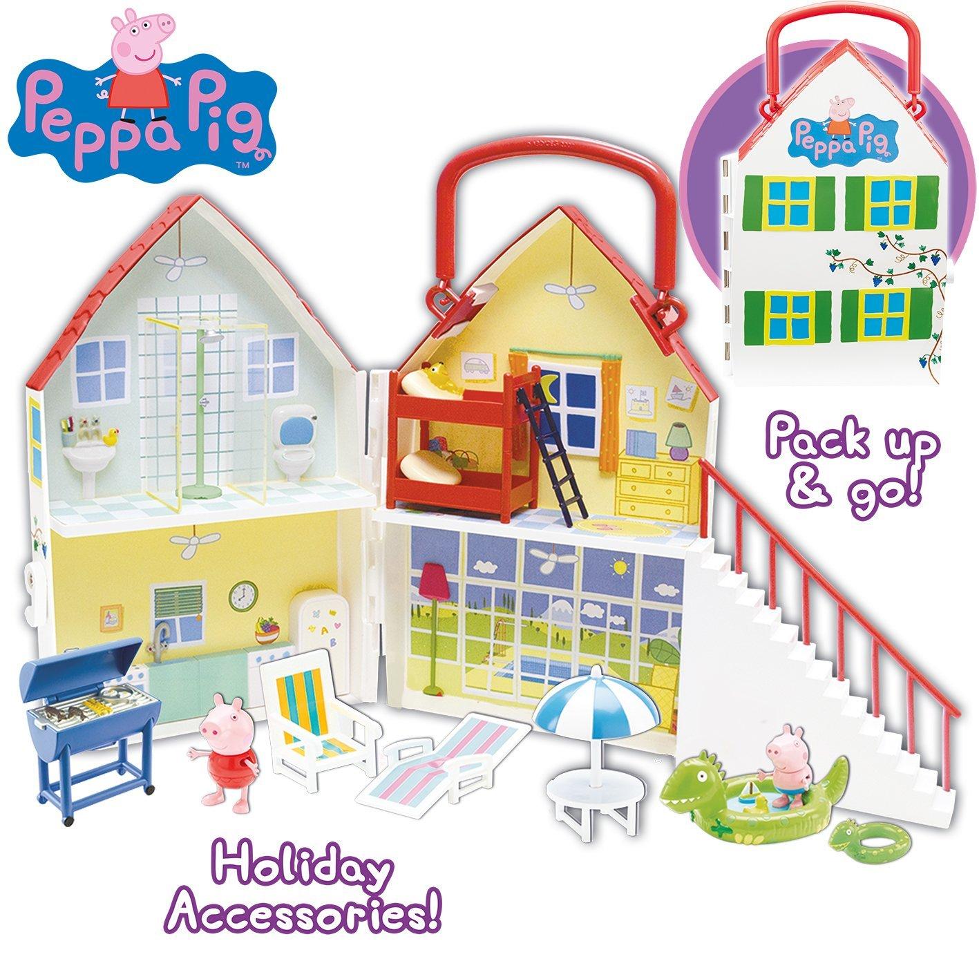 Peppa pig casa de vacaciones la tienda de peppa pig - Vacaciones en casa ...