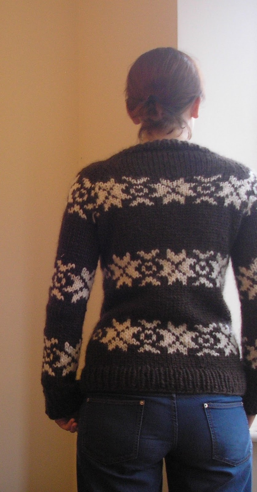 Knitting Pattern For The Killing Jumper : My Killing Jumper