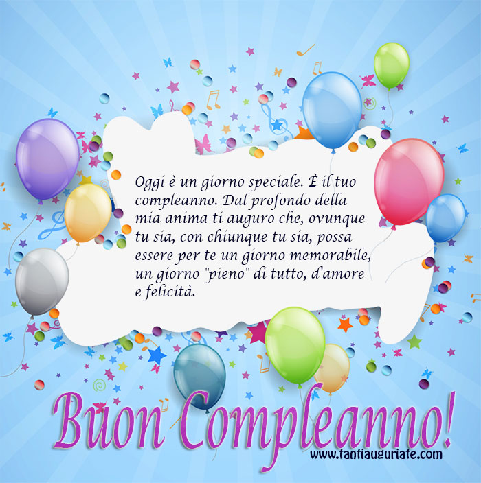 Famoso Post Di Buon Compleanno | Anna Schill Blog DB27