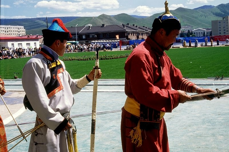 nadaam festival ulan bator mongolia
