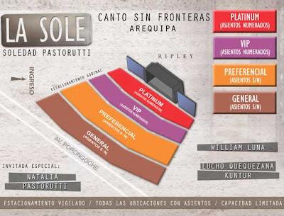 Soledad Pastoruri en Lima y Arequipa (20 - 22 de Octubre 2011)
