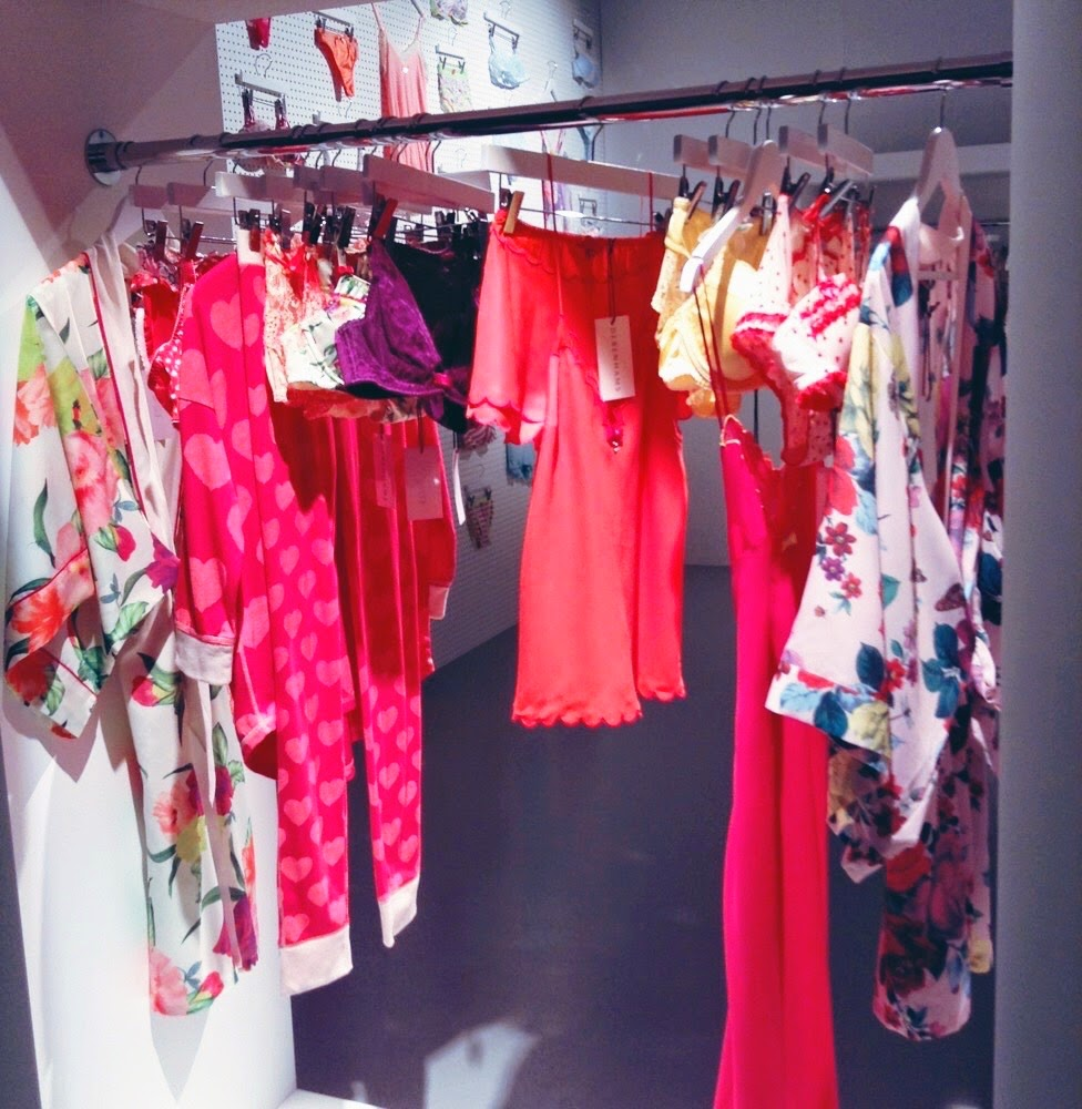 debenhams ss15 press day lingerie nightwear