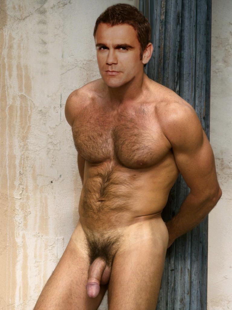 Nude male soap star