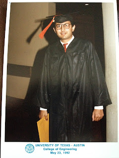Sanjay Dalal - Graduation Photo - University of Texas at Austin