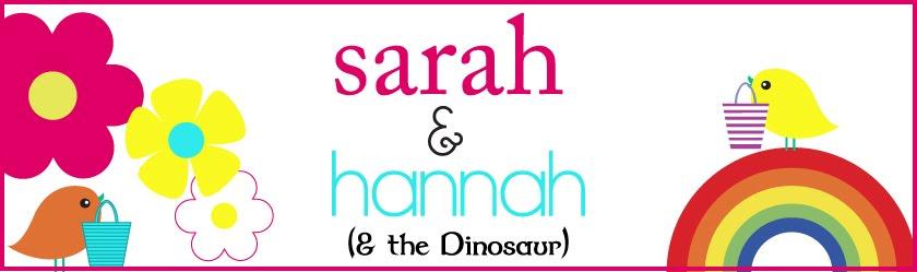 Sarah & Hannah ( & the Dinosaur )