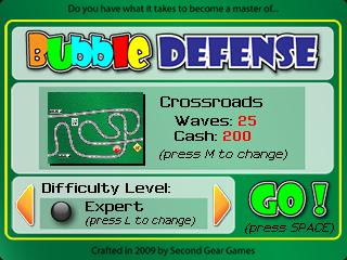 Bubble Defense Expert Level Walkthrough