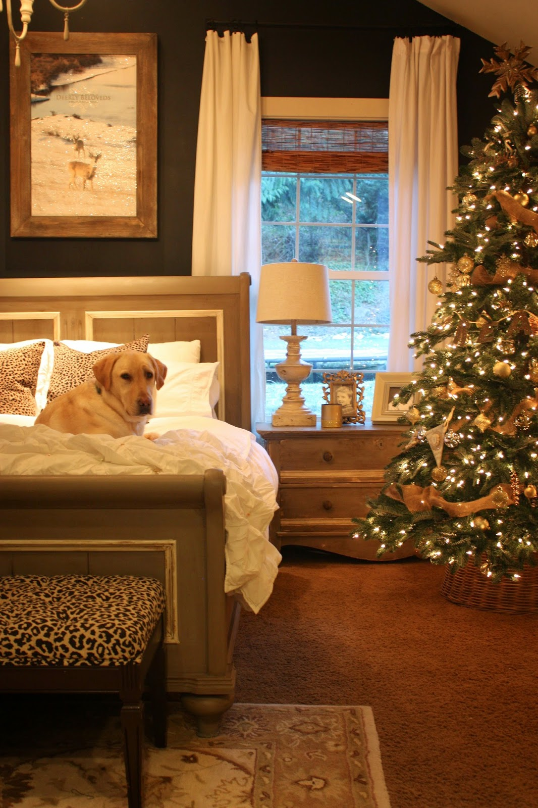My sweet savannah holiday home tour 2014 - Best christmas bedroom decoration ...