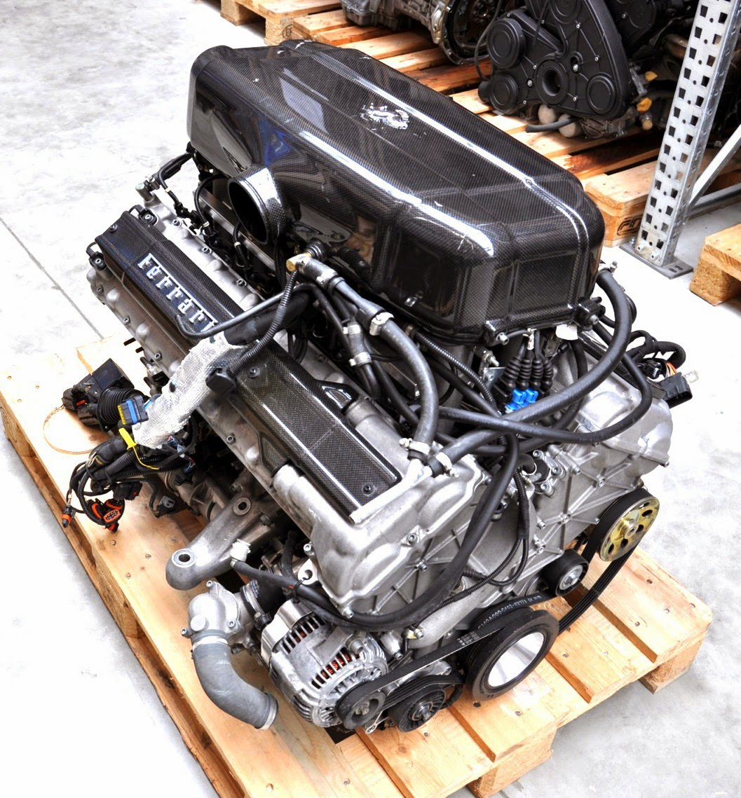only 1000 miles on this Enzo engine and it was on Ebay 89000