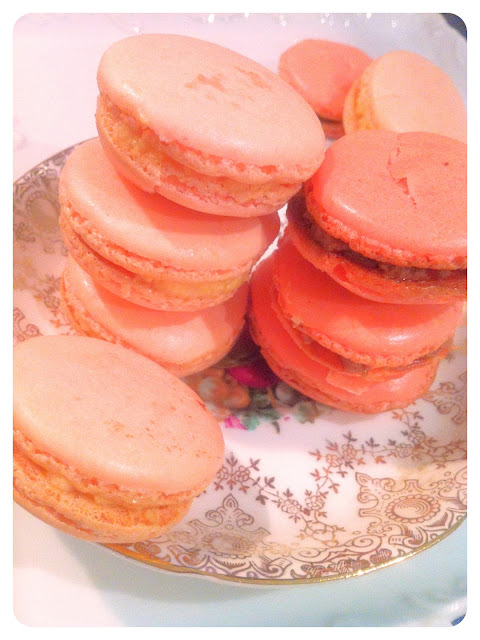 Cherie Kelly's Rose Macarons