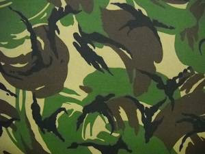 loreng, Baju Loreng Militer, pola loreng, loreng abri