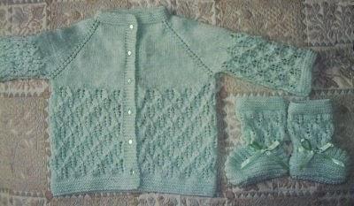 tejidos a crochet y dos agujas flores sacos para bebe y