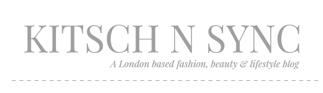 Kitsch-n-Sync - A London Fashion, Beauty, Gaming and Lifestyle Blog.
