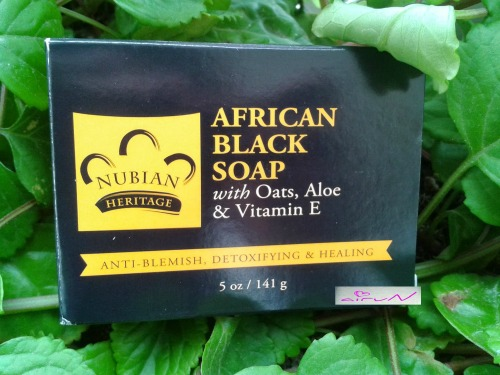 jabón negro africano iherb acné