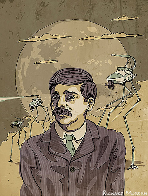 a biography of the herbert george wells Herbert george h g wells (21 september 1866 – 13 august 1946) was an english author, now best known for his work in the science fiction genre he was also a prolific writer in many other genres, including contemporary novels, history, politics and social commentary, even writing textbooks and.