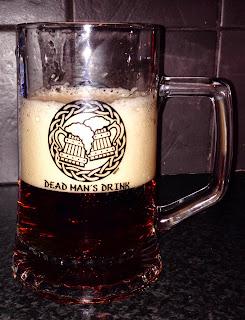 Ale in a Dead Mans Drink Skyrim tankard