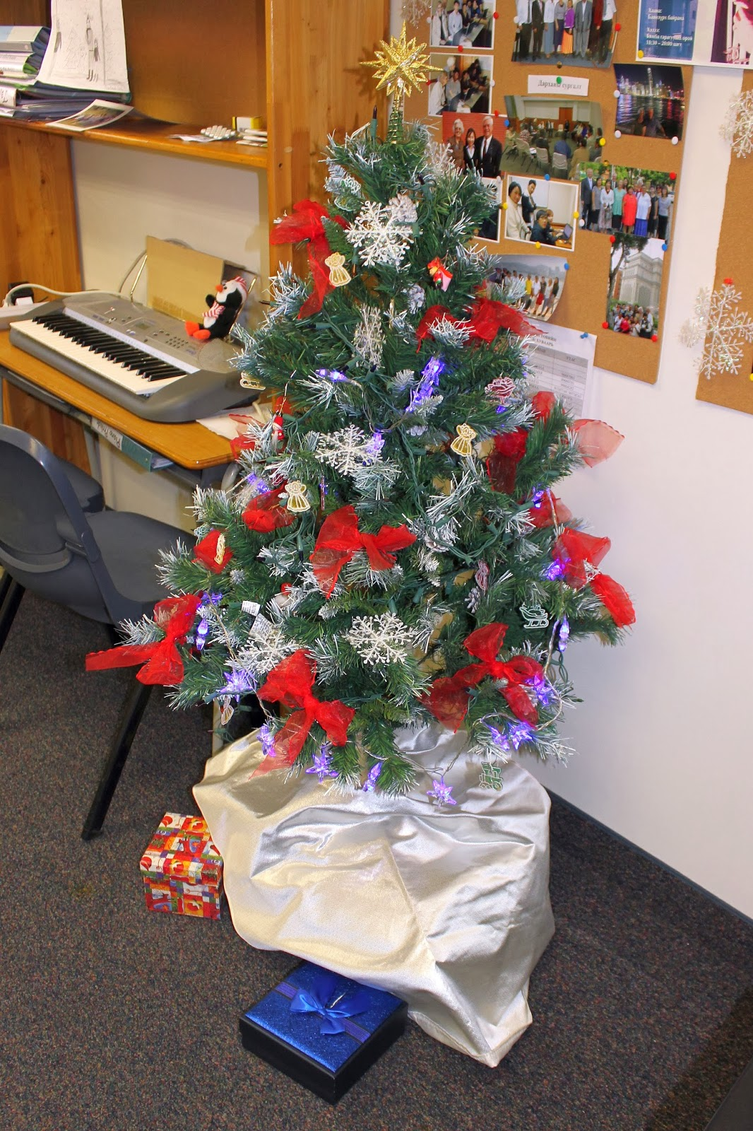 Christmas Tree In Office