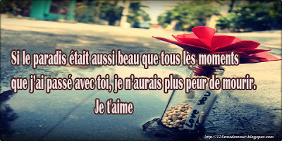 Textos d'amour -sms d'amour