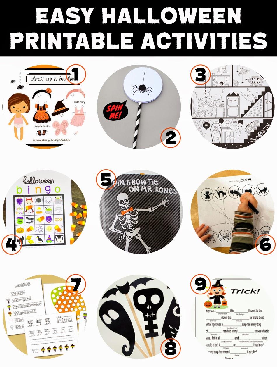 Not-So-SAHM: Easy DIY Halloween Activities