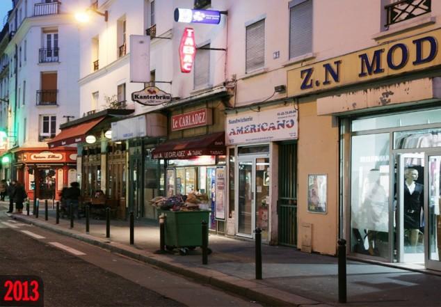 Rue Basfroi in 2013