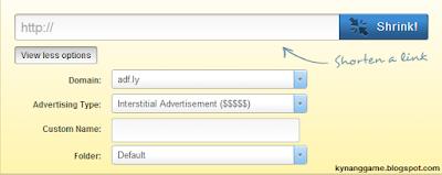 domain và link rút gọn kiếm tiền adf.ly