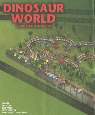 It 39 S Fun 4 Me Dinosaur World Cave City Kentucky