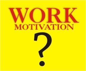 motivasi dalam bekerja