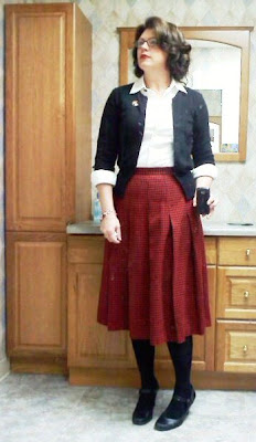 Lilli Ann wool skirt