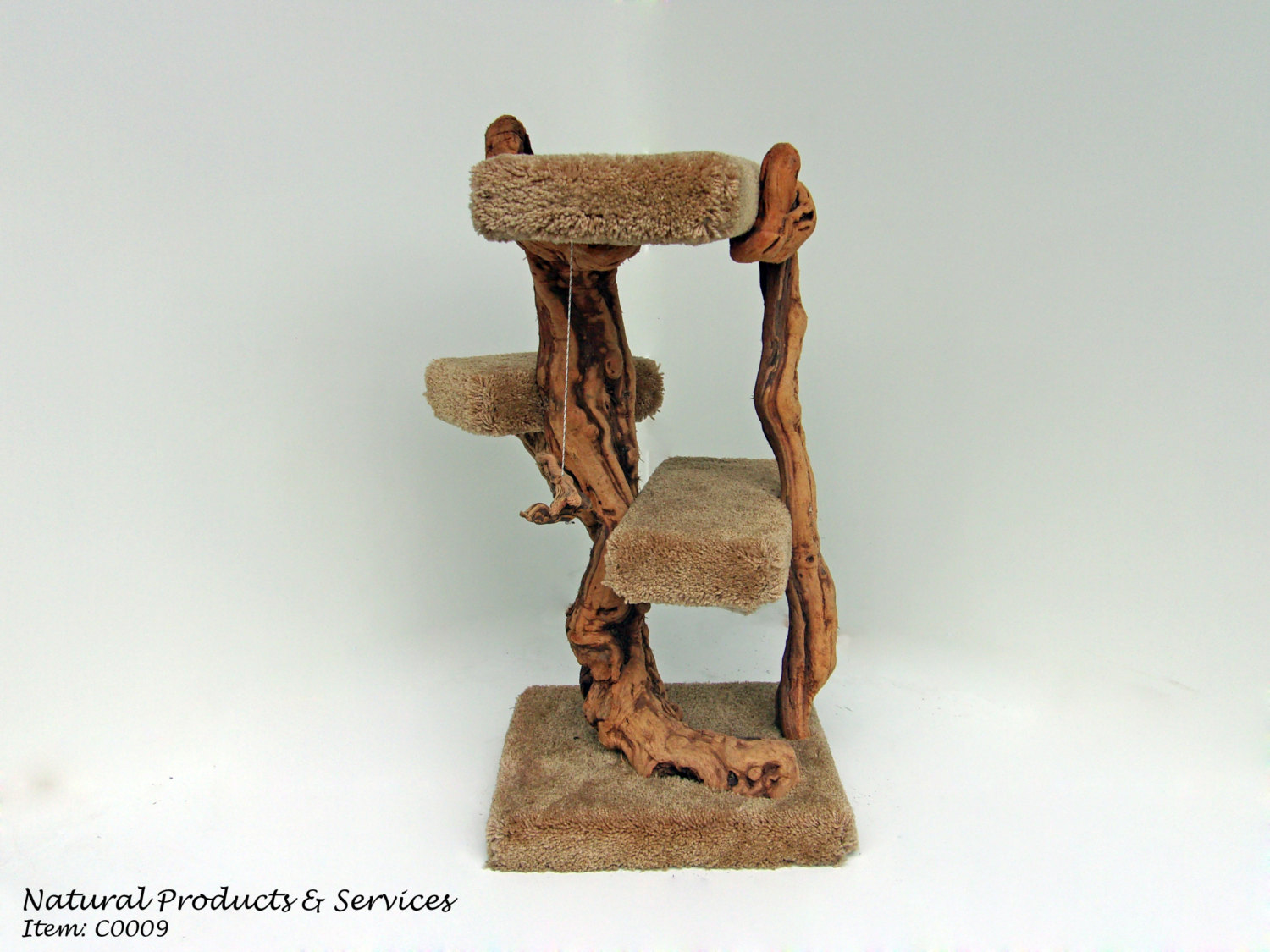 Order California Grapewood And Driftwood Handmade Grapevine Cat Scratcher Tree Driftwood