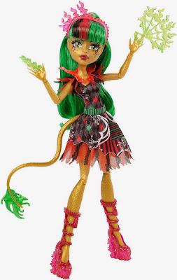 JUGUETES - MONSTER HIGH Freak Du Chic Jinafire Long | Muñeca - doll Toys | Producto Oficial 2015 | Mattel CHX96 | A partir de 6 años