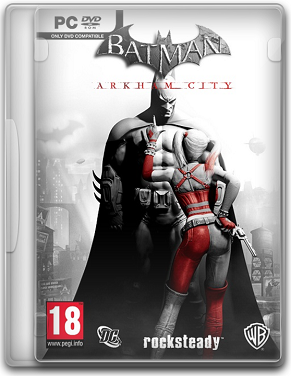 Capa Batman: Arkham City   PC (Completo) 2011