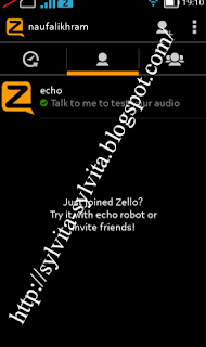 add new zello contact