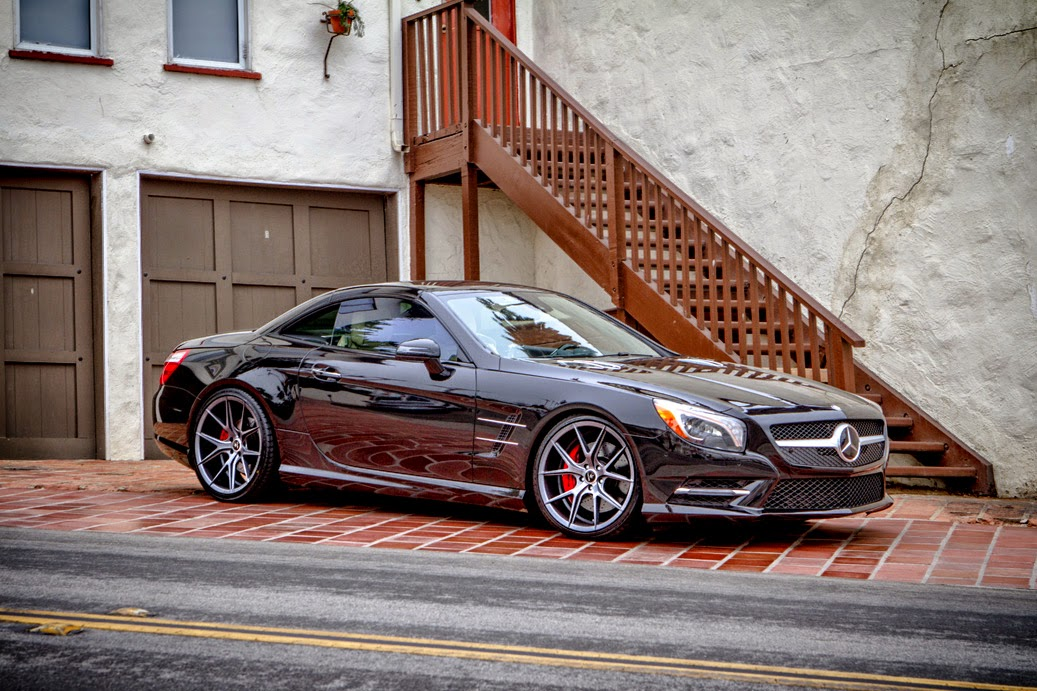 mercedes benz sl550 on verde axis v99 benztuning. Black Bedroom Furniture Sets. Home Design Ideas