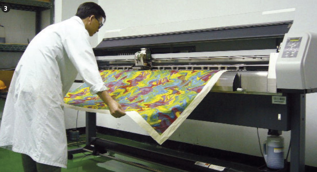 Digital Inkjet Printing : Everlight chemical digital textile printing