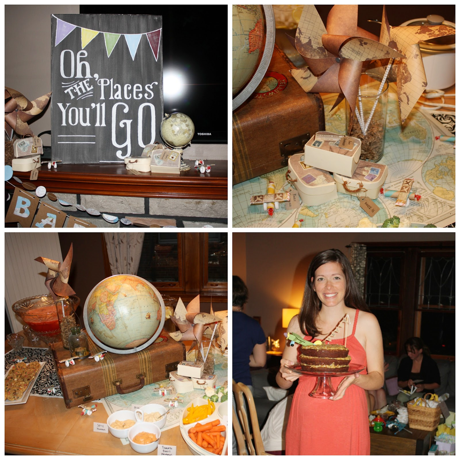 Travel-Themed Baby Shower | The Sweets Life