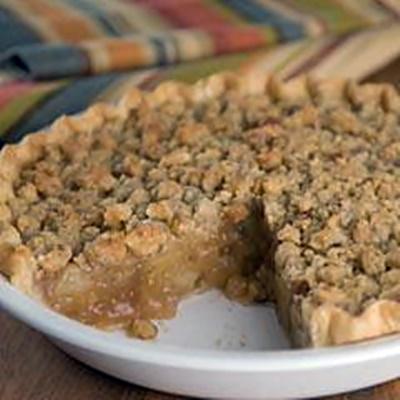 Apple Walnut Crumb Pie