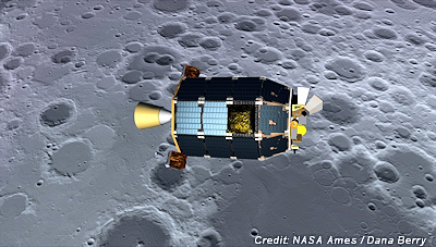 LADEE Spacecraft Soon to Crash into Moon