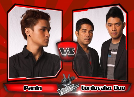 Paolo Onesa vs Cordovales Duo | The Voice of the Philippines Battle Rounds