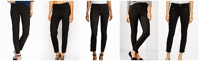 Old Navy The Pixie Ankle Pants $25.00 (regular $34.94)  ASOS Collection Ankle Grazer Stretch Skinny Pants $26.50 (regular $54.00)  Max Studio Heant Ponte Zip Ankle Leggings $29.50 (regular $59.00)  Gap Skinny Ponte Pants $37.99 (regular $54.95)  Club Monaco Tippi Moto Pant $69.00 (regular $139.50)