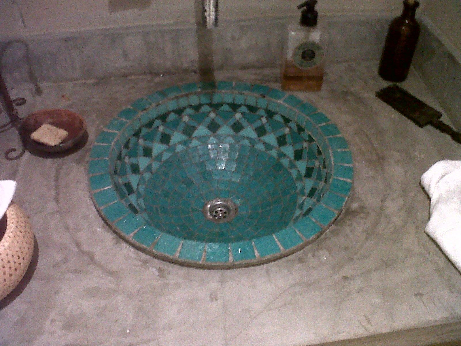 Bachas Para Baño En El Tigre:GwendyDecoración :: Mosaiquismo: BACHAS DE BAÑO