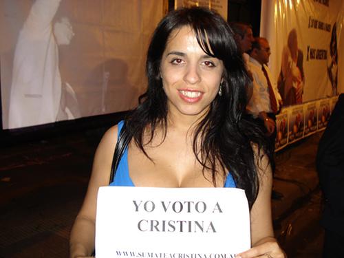 Supuesto vídeo Victoria Donda diputada Argentina